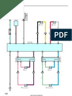 scion xb 2005 audio system wiring diagram motor vehicle Infiniti G37 Wiring Diagram
