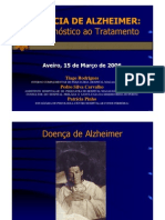 APalzheimer Do Diagnostico Ao Tratamento