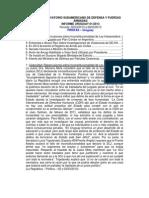 Informe Uruguay 01-2013