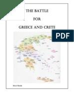 The Battle for Greece & Crete