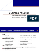 Business Valuation Presentation