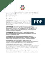 Ley de Autonomia de la Direccion General de Aduanas