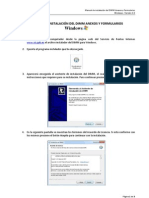 Manual Instalacion Paquete DIMM Windows V1
