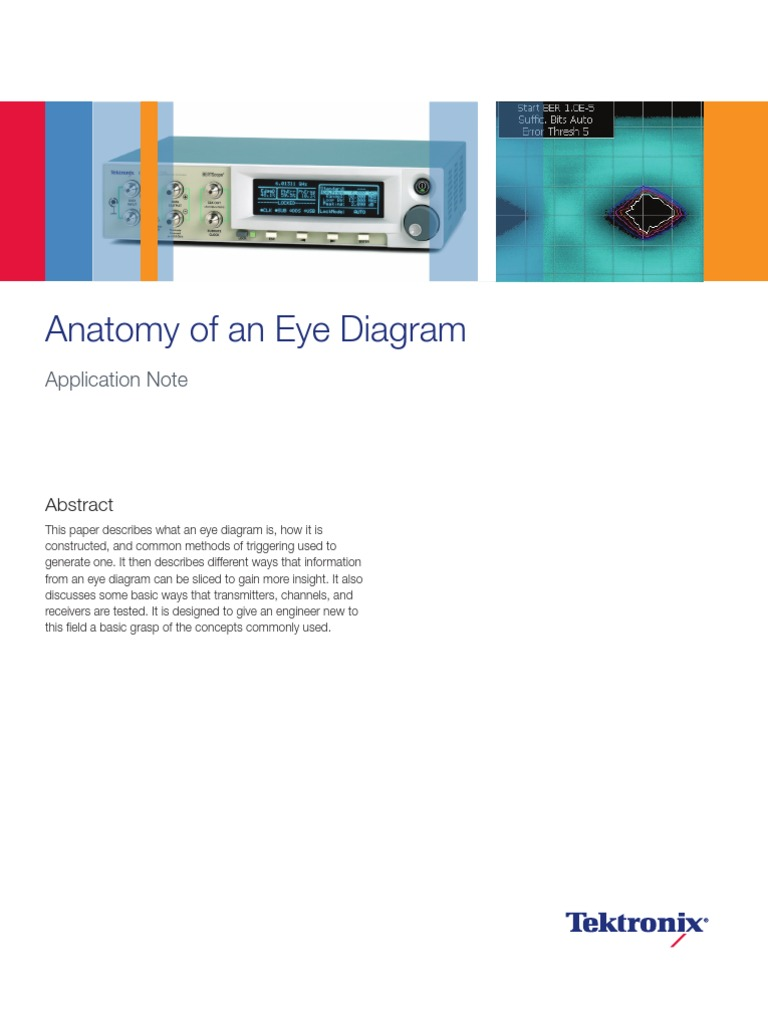 Anatomy of an eye diagram signal electrical engineering eye ccuart Choice Image