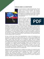 TORCERLE EL RABO A LA CONSTITUCIÓN