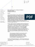 9/11 Commission Letter about Apparently Missing NORAD After Action Review