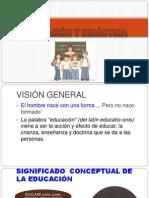 1. Educacion y Didactica