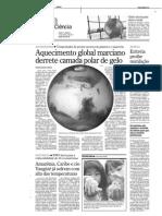Aquecimento global em Marte