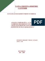 Bazele Merceologiei Analiza Comparativa a Produselor