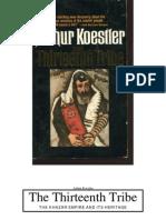 The Thirteenth Tribe By Arthur Koestler
