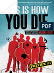 THIS IS HOW YOU DIE –Preview Story 7 - BLUE FEVER