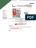 Kit 6 de Instalacion Para Termochimeneas Con Vaso de Expansion Cerrado Con Produccion de Agua Sanitaria (Accesorios Calefaccion Agua)