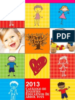 SPRING Catalog Arbol Toys 2013