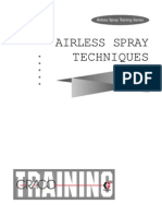 Airless Spray Training