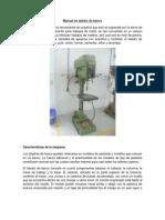 Manual Para Utilizar El Taladro
