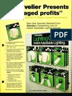 Swivelier Blister Card Retail Packages Bulletin 1978