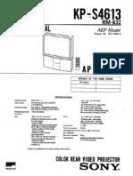 SONY AP-2 KP-S 4613 PART 1