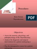 LP 11 Thyroidectomy