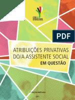 Atribuições Privativas do-a assistente social em Questão
