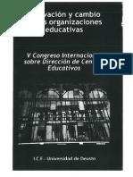 Aplicaciones de Un Modelo de Gestion Escolar Del Mejoramiento en Escuelas Vulnerables a La Certificacion de Calidad(1)
