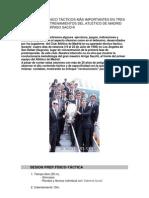 EJERCICIOS TÉCNICO TÁCTICOS MÁS IMPORTANTES EN TRES SESIONES DE ENTRENAMIENTOS DEL ATLÉTICO DE MADRID DIRIGIDAS POR ARRIGO SACCHI