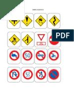 Simbol Jalan Raya