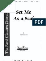 Set Me as a Seal Coro