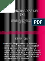 Vanguardismo del siglo XX.ppt