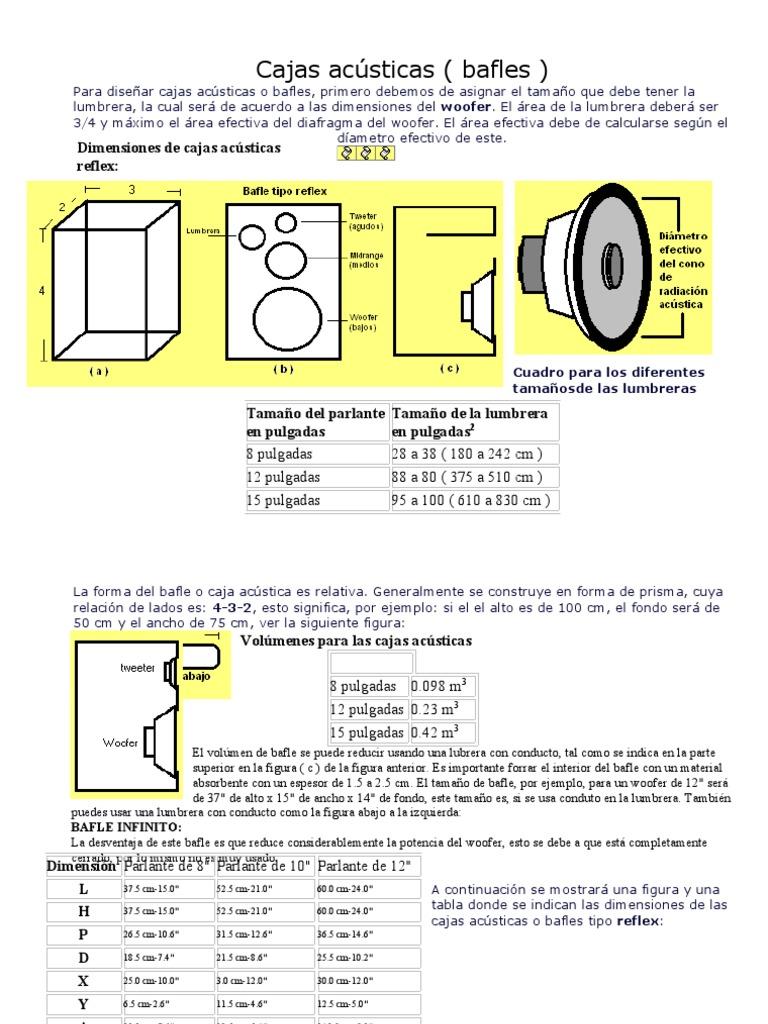 59729910 Cajas Acusticas Calculo