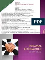 Personal Aeronautico