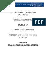 2.3 Erasmo Carlos Ponce Ballesteros