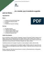 Torta de Amoras _ Doces e Sobremesas _ Globo Rural _ Receitas