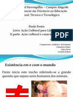 Ação cultural e conscientização.ppt
