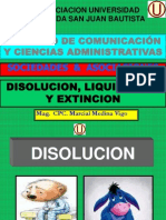 Unidad de Disol, Liquid y Extinc - Upsjb