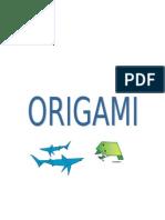 ORIGAMI PRESENTACIÓN