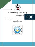 Walt Disney Report