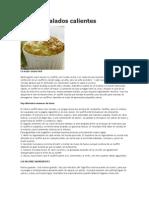 receta Soufflés salados calientes