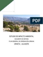 Sintesis Estudio de Impacto Ambiental