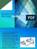 Modelo Organizacional de Mercadotecnia