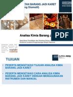 Diklat Proses Pembuatan Barang Jadi Karet - Analisa Kimia Barang Jadi Karet