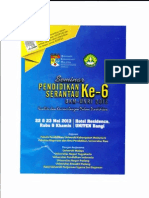 Seminar Pendidikan Serantau Ke-6
