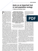 Benton & Grant 1999 Elasticity Analysis as an Important Tool in Evolutionary and Population Ecology