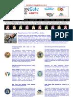 Monday - March 11, 2013 - ForeclosureGate Gazette
