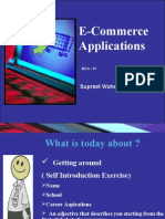 Unit1 -E-Commerce Overview