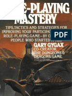 Gary Gygax - Role Playing Mastery