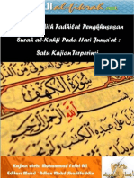 Hadith-Hadith Fadhilat Pengkhususan Surah al-Kahfi Pada Hari Juma'at Satu Kajian Terperinci - UPDATEDD VERSION 1 May 2012