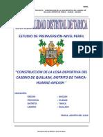 Perfil_losa Deportiva QUILLASH