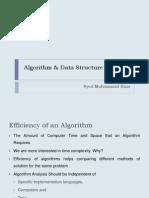 Algorithm & Data Structure Lec2 (BET)