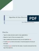 Algorithm & Data Structures Lec4 (BET)