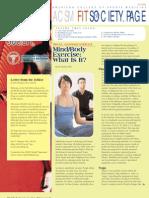 2008 Fall Fspn Mind Body Exercise